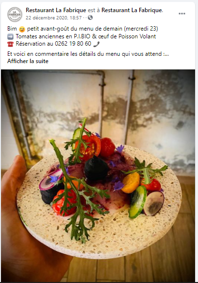 Social Media pour les restaurants
